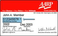 Hey AARP!  Where's the card you're suppose to send me?   #ASMSG  #IAN1